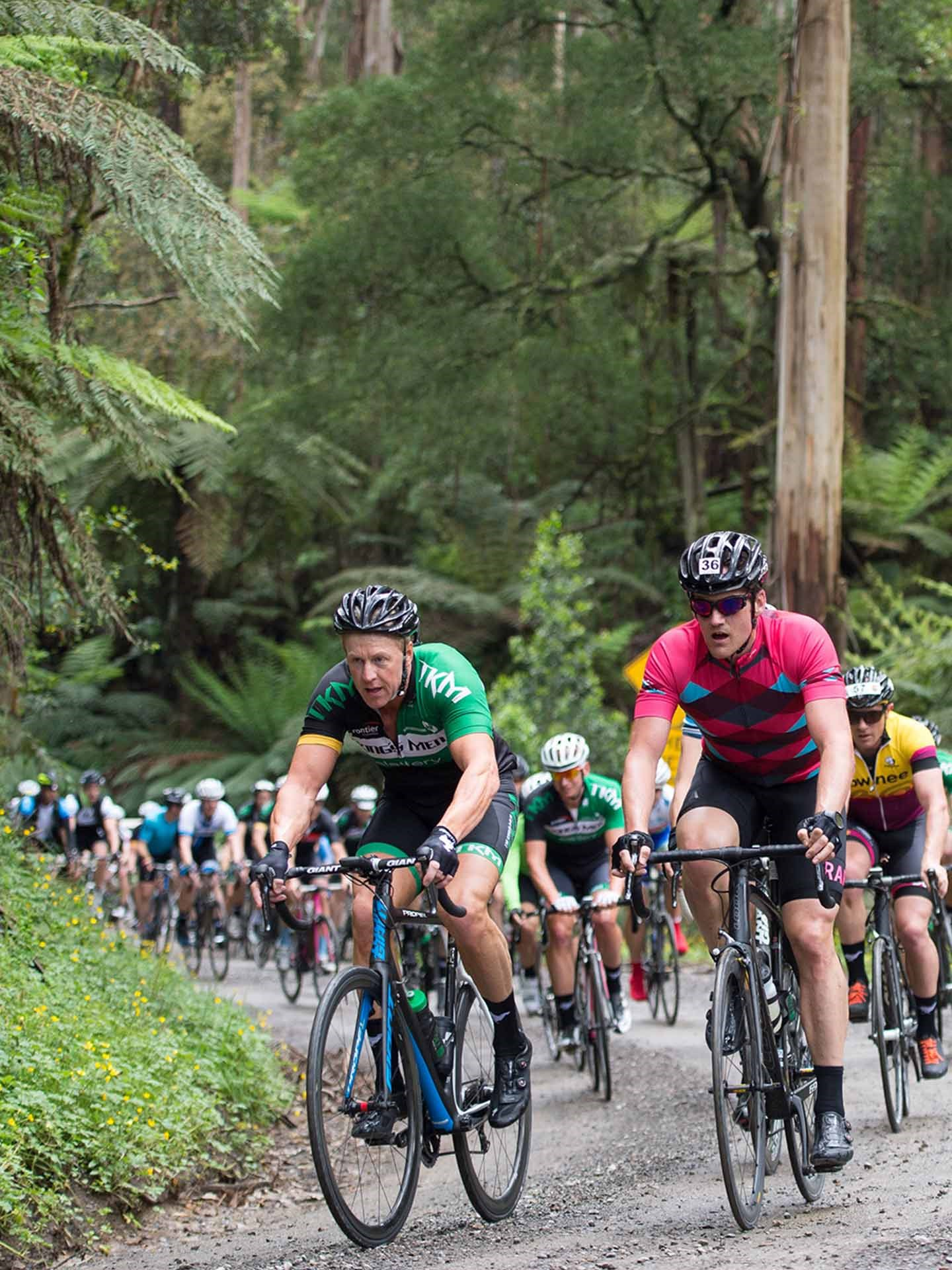 MELBOURNE CORPORATE CHARITY CYCLING DAY 2017