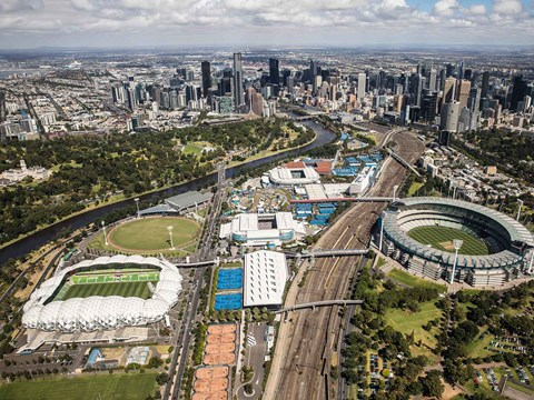Melbourne & Olympic Parks Precinct Discount Parking